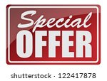 window style signs special... | Shutterstock . vector #122417878