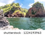 beautiful cliff landscape at... | Shutterstock . vector #1224193963