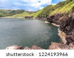 beautiful cliff landscape at... | Shutterstock . vector #1224193966