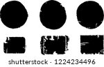 grunge post stamps collection ... | Shutterstock .eps vector #1224234496