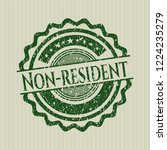 green non resident distressed... | Shutterstock .eps vector #1224235279