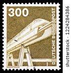moscow  russia   october 21 ... | Shutterstock . vector #1224284386