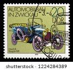 moscow  russia   october 21 ... | Shutterstock . vector #1224284389