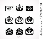 set outline email icon...
