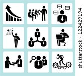 business training  company... | Shutterstock .eps vector #122429194