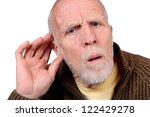 hearing loss | Shutterstock . vector #122429278