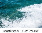 sounds of the water and roaring ... | Shutterstock . vector #1224298159