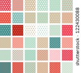 seamless abstract retro pattern....   Shutterstock .eps vector #122430088