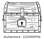 cartoon drawing illustration of ... | Shutterstock .eps vector #1224305956