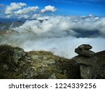 view from mountain range to the ... | Shutterstock . vector #1224339256