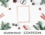 christmas composition....   Shutterstock . vector #1224352246