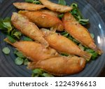calabrian fried fish called... | Shutterstock . vector #1224396613