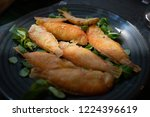 calabrian fried fish called... | Shutterstock . vector #1224396619