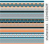 texture knitted. winter... | Shutterstock .eps vector #1224403639