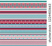 texture knitted. winter... | Shutterstock .eps vector #1224403663