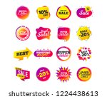 sale banner templates design.... | Shutterstock .eps vector #1224438613