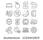 set of quick tips  bus and web... | Shutterstock .eps vector #1224441829
