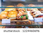 display of store  shop selling... | Shutterstock . vector #1224460696
