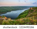 picturesque canyon of the... | Shutterstock . vector #1224490186