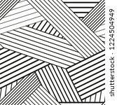 vector seamless geometric... | Shutterstock .eps vector #1224504949