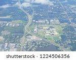 aerial of tampa bay | Shutterstock . vector #1224506356