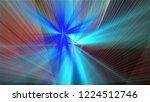 bright different random lights  ... | Shutterstock . vector #1224512746
