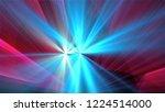 bright different random lights  ... | Shutterstock . vector #1224514000