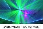 bright different random lights  ... | Shutterstock . vector #1224514033