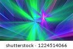 bright different random lights  ... | Shutterstock . vector #1224514066