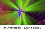 bright different random lights  ... | Shutterstock . vector #1224514069