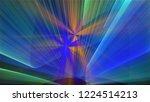 bright different random lights  ... | Shutterstock . vector #1224514213