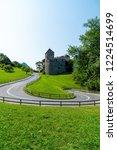 beautiful architecture at vaduz ... | Shutterstock . vector #1224514699