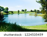 nature around the lake in the... | Shutterstock . vector #1224535459