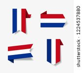 Dutch Flag Stickers And Labels...