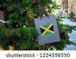 Jamaica Flag Printed On A...