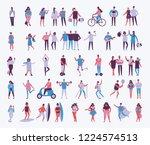vector illustration in a flat... | Shutterstock .eps vector #1224574513