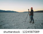 professional male photographer... | Shutterstock . vector #1224587089