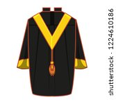 Graduation Gown Isolated Icon