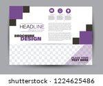 flyer  brochure  billboard... | Shutterstock .eps vector #1224625486