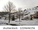 winter in schwarzwald. mountain ...   Shutterstock . vector #1224646156