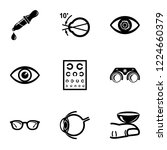 explore vision icons set.... | Shutterstock .eps vector #1224660379