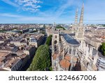 saint andre cathedral on place... | Shutterstock . vector #1224667006
