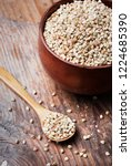 still life  with buckwheat... | Shutterstock . vector #1224685390