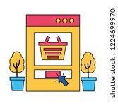 online buying ecommerce | Shutterstock .eps vector #1224699970