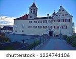 renaissance castle in brenz at... | Shutterstock . vector #1224741106