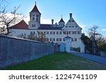 renaissance castle in brenz at... | Shutterstock . vector #1224741109