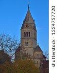 purely romanesque st. gallus... | Shutterstock . vector #1224757720