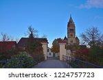 purely romanesque st. gallus... | Shutterstock . vector #1224757723