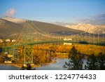 landmark lions gate suspension...   Shutterstock . vector #1224774433
