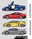 cars series set 2 | Shutterstock .eps vector #122481439